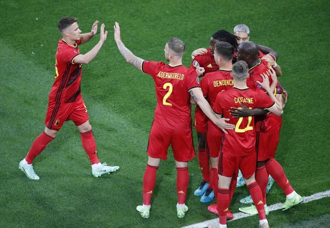 Đội tuyển Bỉ có trận ra quân hoành tráng tại Euro 2021