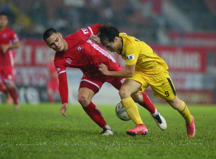 HAGL đá giao hữu với Hải Phòng chuẩn bị cho V-League 2021