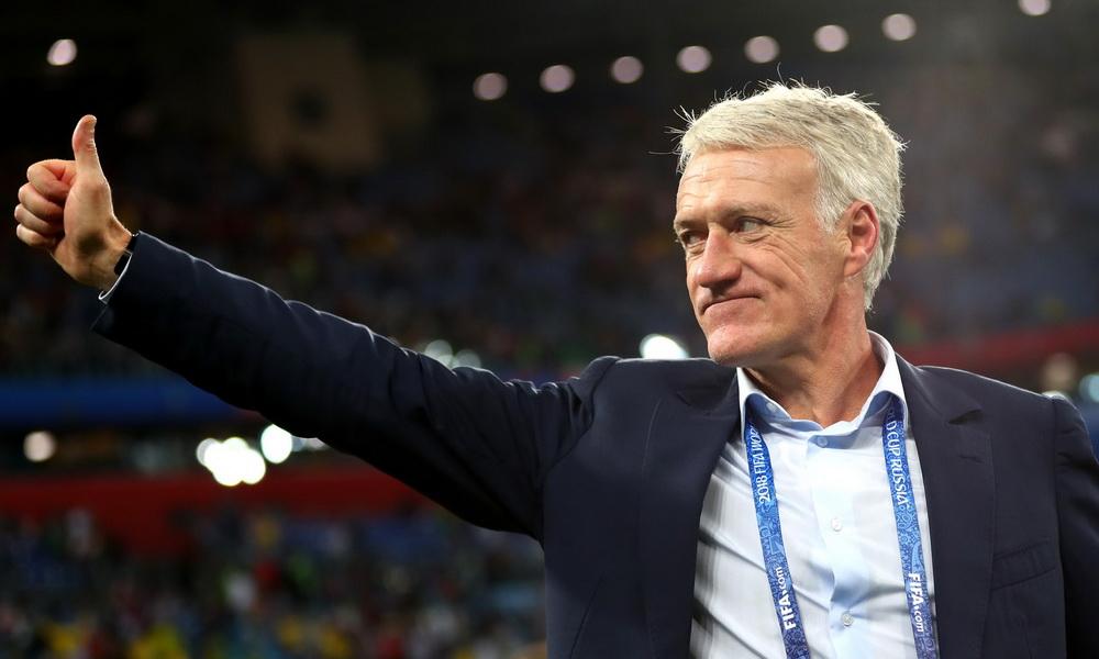 huấn luyện viên Pháp Didier Deschamps