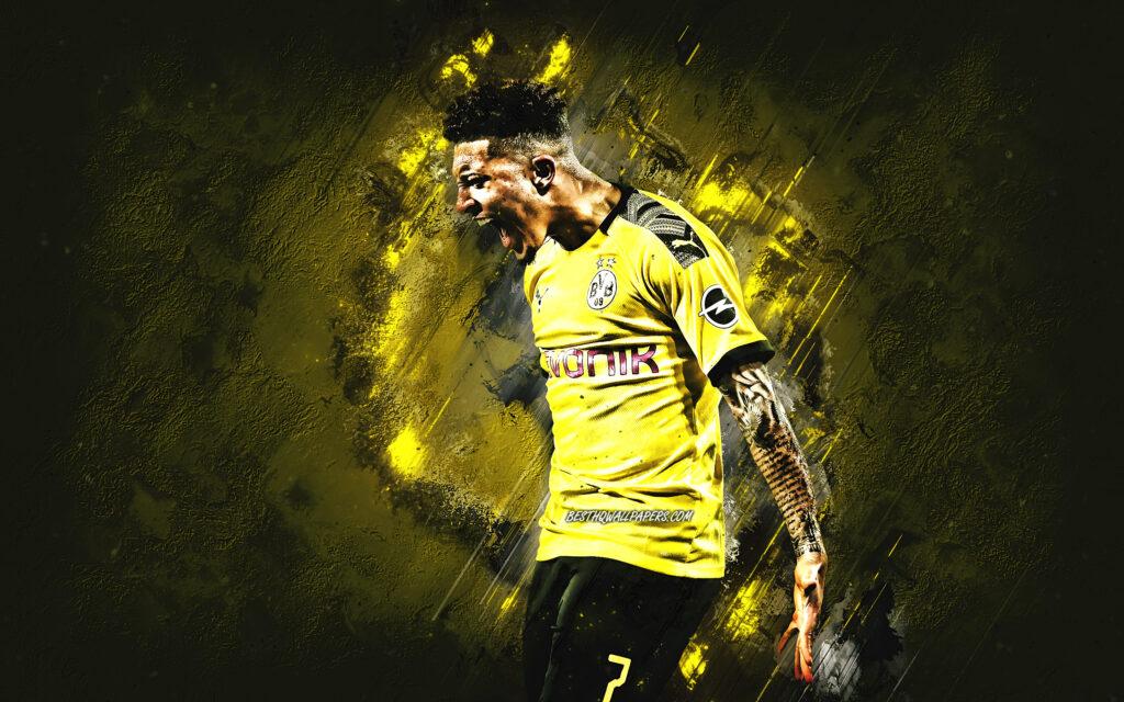 Jadon Sancho nhân tố chủ lực của hàng công Borussia Dortmund