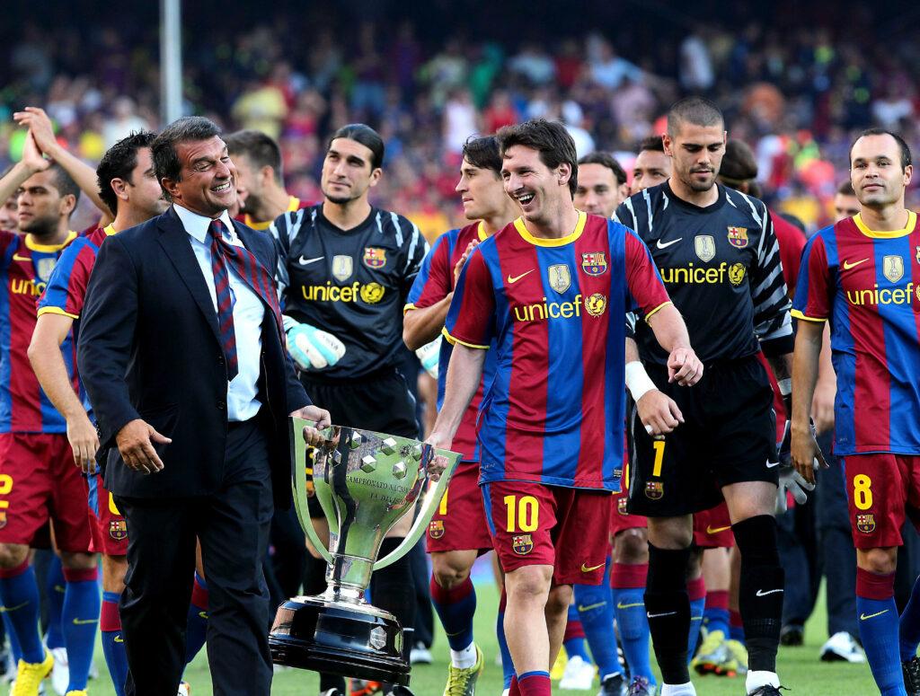 Joan Laporta sẽ giúp Barca trở thành đội bóng vĩ đại