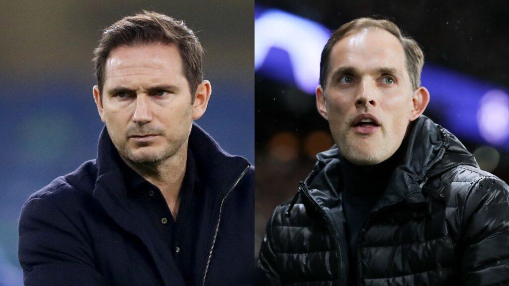 Lampard và Thomas Tuchel