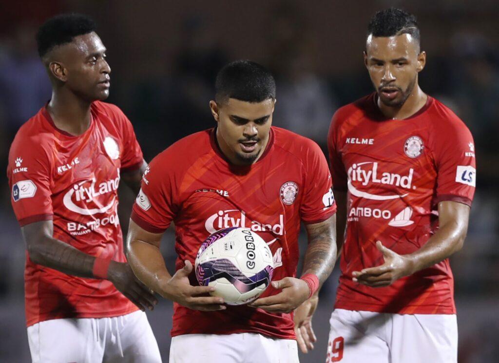 Tiền đạo nước ngoài Dario Junior chính thức chia tay với CLB TP.HCM