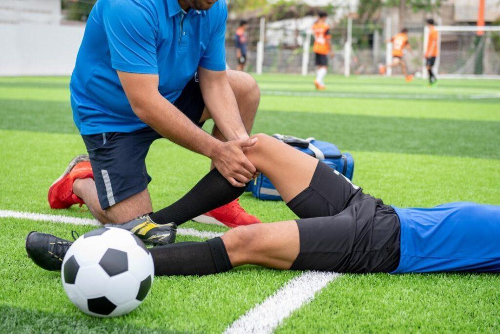 6 chấn thương trong bóng đá bạn dễ gặp phải
