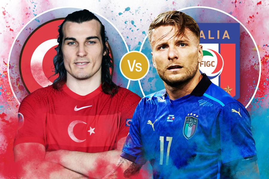 Trận đấu mở màn của VCK EURO 2021: Italia và Thổ Nhĩ Kỳ